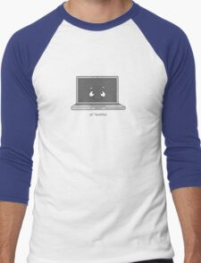 Ol' Faithful Macbook Pro Men's Baseball ¾ T-Shirt