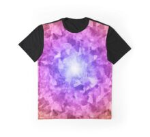 Exploding Fragments Graphic T-Shirt