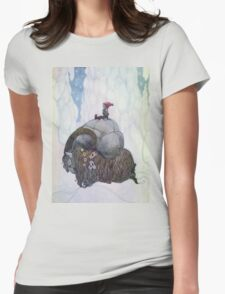 Jullbocken The Yule Goat Being Ridden By A Child T-Shirt