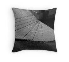 Sidewalk Fan Throw Pillow