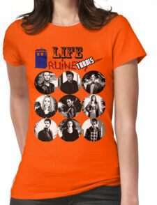 Life Ruiners - Tardis Edition Womens Fitted T-Shirt