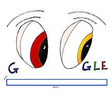 Des yeux de Google Photographic Print