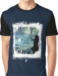 *Silver*Doe* BIG - Winterly Magical Edit Graphic T-Shirt