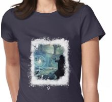 *Silver*Doe* BIG - Winterly Magical Edit Womens Fitted T-Shirt