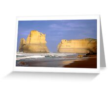 Early Morning Gibson's Steps - Great Ocean Road Greeting Card