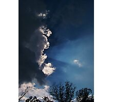 Formation Of A Storm Photographic Print