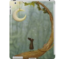 Raven Loves The Moon iPad Case/Skin