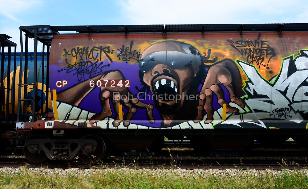 Graffiti Genius 1 by Bob Christopher
