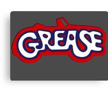 Grease Logo Canvas Print