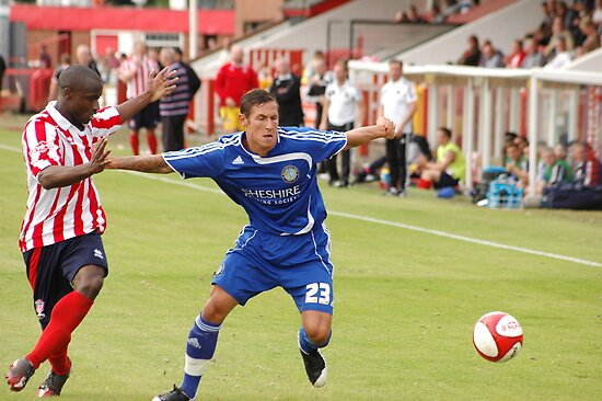 Pre season friendly Witton Albion v Macclesfield Town by Matt Eagles
