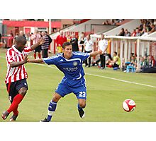 Pre season friendly Witton Albion v Macclesfield Town Photographic Print
