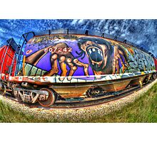 Graffiti Genius 3 Photographic Print
