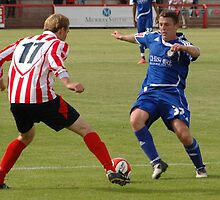 Witton Albion v Macclesfield Town by Matt Eagles