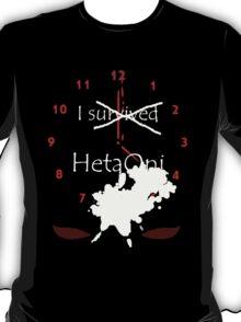 I Survived HetaOni T-Shirt
