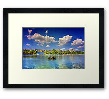 Day by the Sea Framed Print