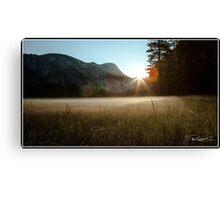 Yosemite Valley Sunrise Canvas Print