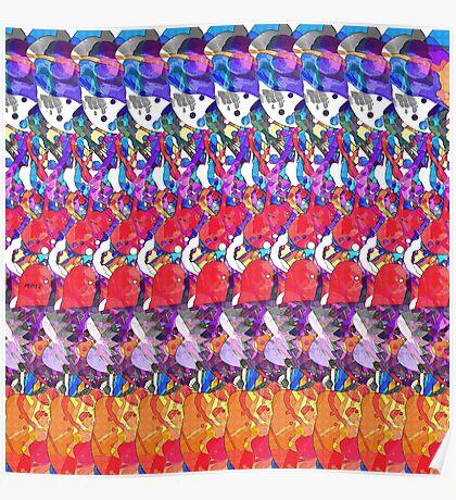 Abstract Digital Art 2 Poster