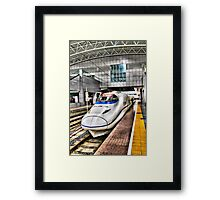 Bullet Train Framed Print
