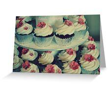 Sweety Cupcakes Greeting Card