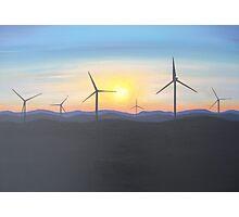 Windmills Photographic Print