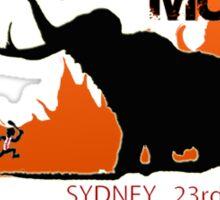 TOUGH MUDDER T-SHIRT 2012 SYDNEY Sticker