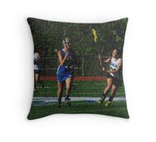 051112 372 0 van gogh girls lacrosse Throw Pillow
