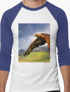 The King of the Mountains Men's Baseball ¾ T-Shirt