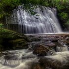 Lower Falls of Little Stony Creek by James Hoffman