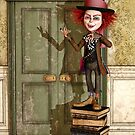 The Mad Hatter - Alice in Wonderland Art by Liam Liberty