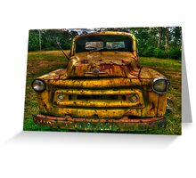 Just Call me RUSTY - Bell's Line Of Road, Kurrajong, NSW - The HDR Experience Greeting Card