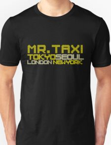 SNSD - Mr. Taxi Locations T-Shirt