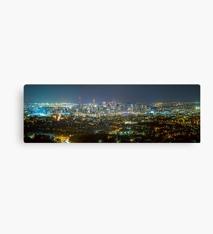 Stadium to Stadium Canvas Print