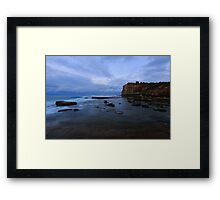 Terrigal Gloom Framed Print
