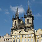 Tyn Church Prague by kirilart