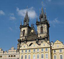 Tyn Church Prague by kirilart