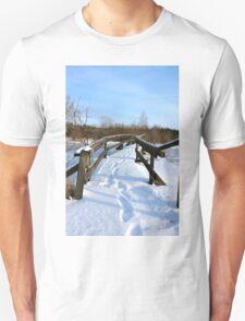 The Herrestadsjön bridge III Unisex T-Shirt