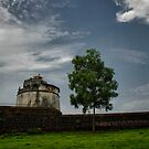 Old lighthouse at Fort Aguada, Goa, India by Biren Brahmbhatt