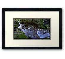 Chasm Falls Cascades Framed Print