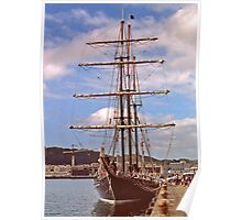 Tall Ship Poster