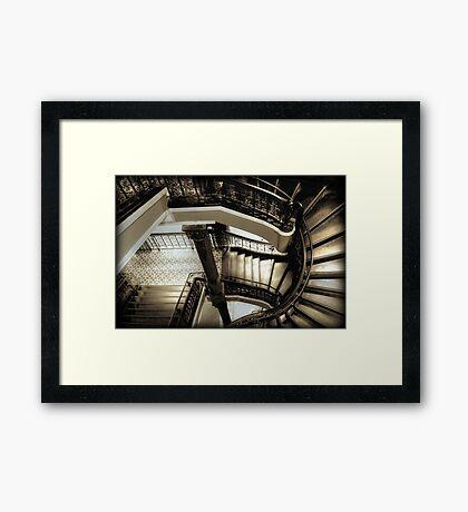 ~ flight curve ~ Framed Print