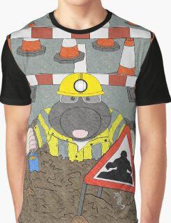 Roadwork Mole Graphic T-Shirt