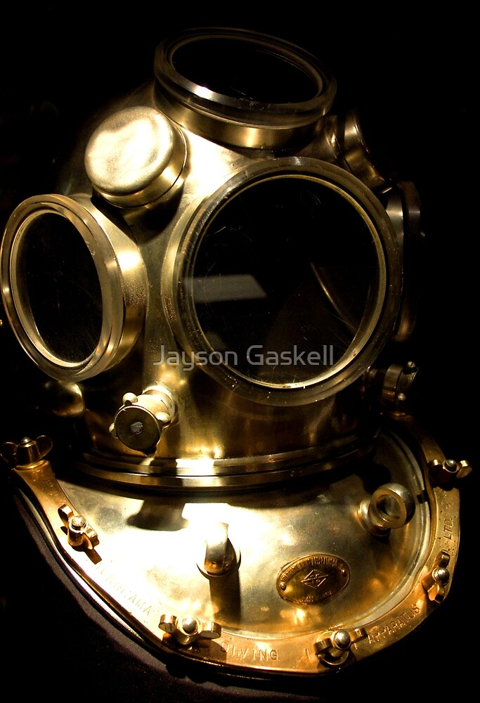 The diver by Jayson Gaskell