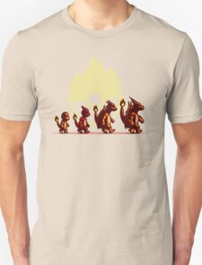 Fire Red Evolution T-Shirt