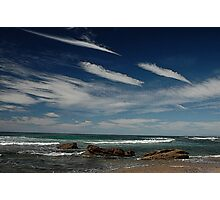 3 by 3: Sky by Sea, Werrong Beach Photographic Print