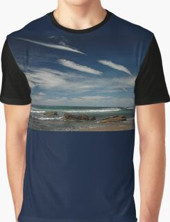 3 by 3: Sky by Sea, Werrong Beach Graphic T-Shirt