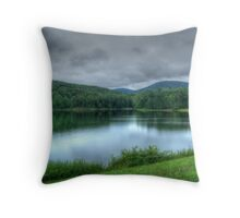 Lake Arrowhead HDR Throw Pillow