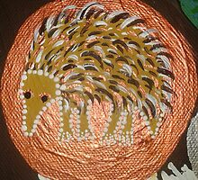 Echidna Totum (Tree of Life Painting) by LESLEY B