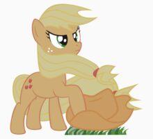 Windswept Applejack by Anthpony