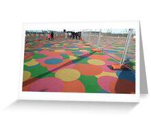 Multicoloured Greeting Card