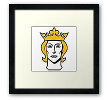 stockholm sverige Swedish king erik Framed Print